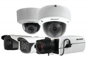 Hikvision IP cameras